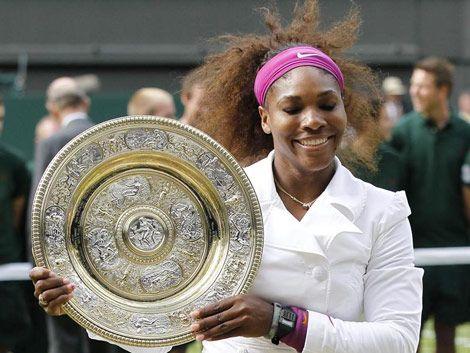Serena Williams se corona en Wimbledon por quinta vez