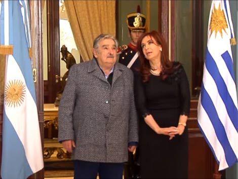 Mujica dijo que Argentina no está sólida