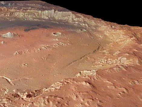 Mars Express revela: Marte tiene compleja historia geológica