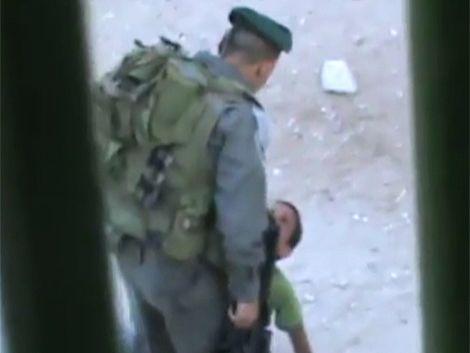 Polémico video de agresión de un soldado israelí a niño palestino