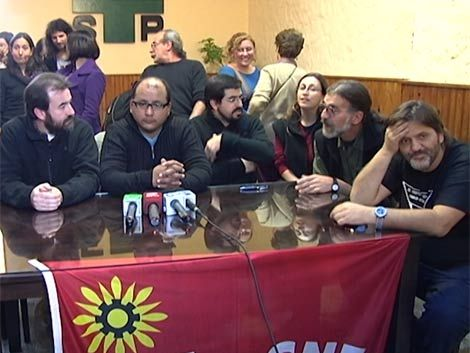 Los docentes siguen en conflicto pese a acuerdo con ANEP