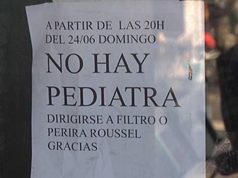 Venegas niega emergencia sanitaria por falta de pediatras