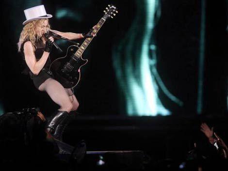 Madonna calienta motores por el mundo y se acerca a Sudamérica