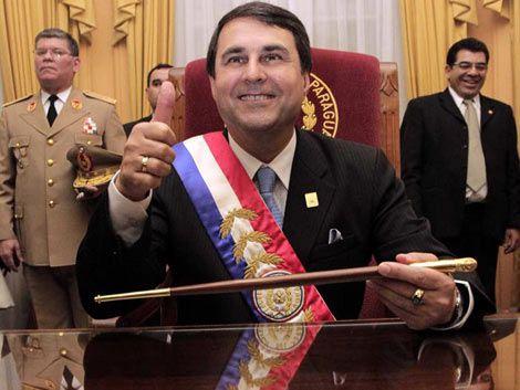El vicepresidente Federico Franco asumió Presidencia de Paraguay