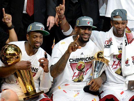 Los Miami Heat son los nuevos campeones de la NBA