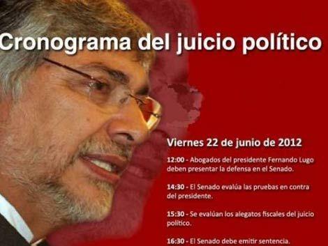 Las razones que llevaron a la destitución de Fernando Lugo