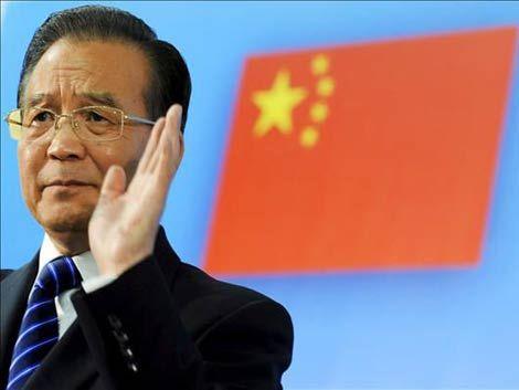 Llega primer ministro de China