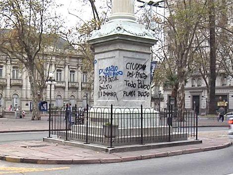 IM exhortará a Nacional a que pague por limpieza de monumento