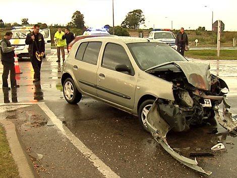 """Conducta """"imprudente"""" del camionero causó accidente con Ghiggia"""