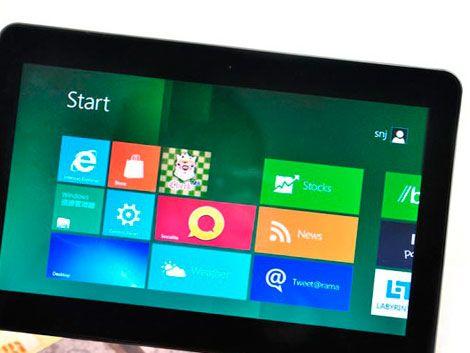 Microsoft presentará este lunes su propia tableta