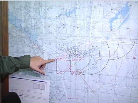 Armada retoma búsqueda de avión desaparecido