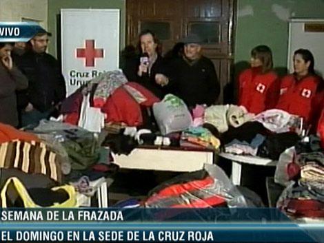 Refugios comenzaron a recibir las frazadas de la campaña