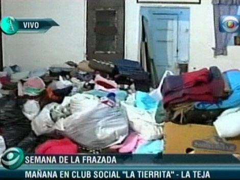 Donaciones colmaron instalaciones en el Cerro; viernes en La Teja