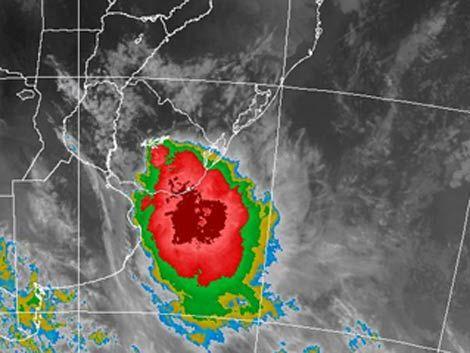 Alerta Naranja: tormentas fuertes en el sur