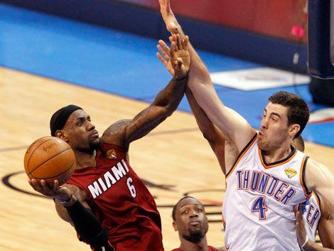 La primera final de la NBA fue para Oklahoma City