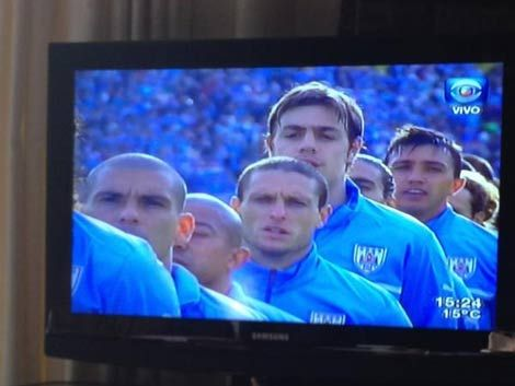 Los uruguayos y los partidos de la celeste