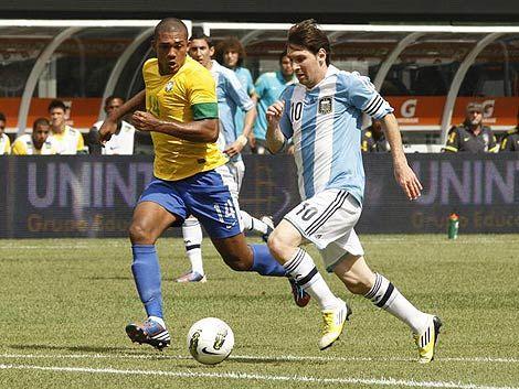 Argentina le ganó 4 a 3 a Brasil en emocionante amistoso