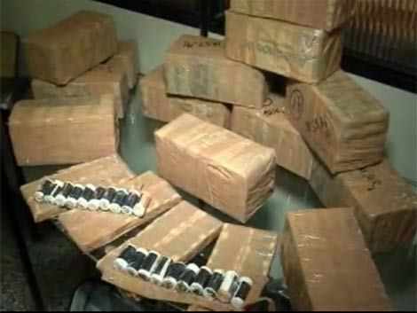 A prisión dos narcos que llevaban 17 kilos de pasta base