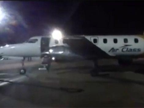 Última comunicación entre avión desaparecido y torre de control