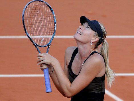 Sharapova recupera el Nº 1 y jugará su primera final en París