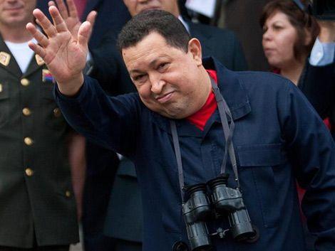 Chávez felicitó a Venezuela por el empate con Uruguay