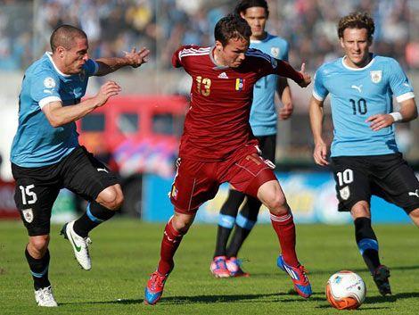 Fue empate en el Centenario: Uruguay 1 - Venezuela 1