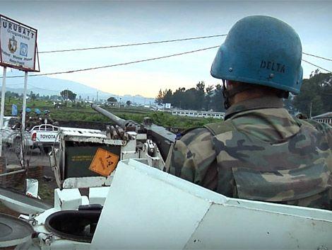 Cascos azules uruguayos movilizados en misión preventiva en Congo