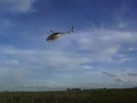 Helicóptero policial brasileño invadió territorio uruguayo