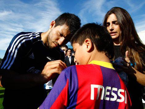 Sabella apuesta por el tridente Messi-Kun-Higuaín