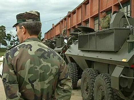 Polémica por participación de militares en seguridad pública