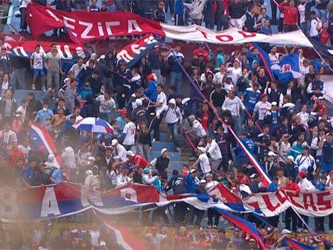 Nacional le ganó 2 a 0 a Wanderers en el Parque Central