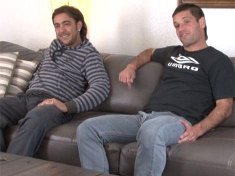 Chino y Tony: amigos en el fútbol y ahora en Carnaval