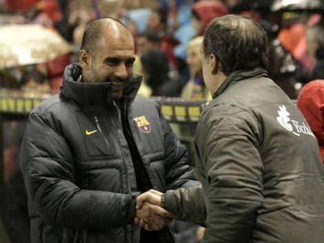 Barza y Atlhetic Bilbao disputan hoy la Copa del Rey