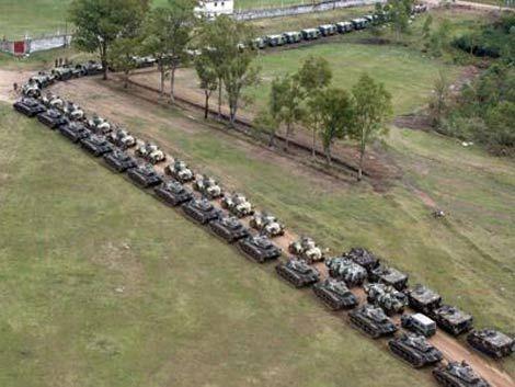 Esta tarde se realizará el desfile militar más grande en 30 años