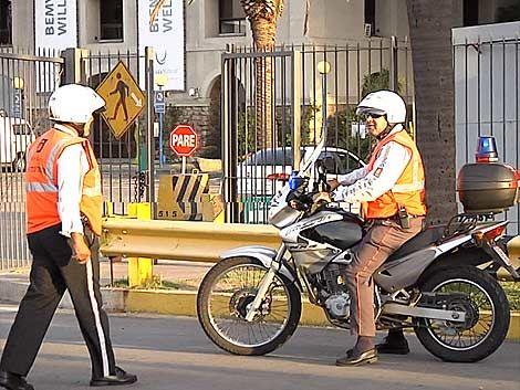 Inspector de tránsito fue atropellado por un automovilista