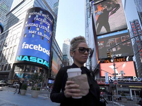 Facebook mantiene caída superior al 12% en 2do. día en bolsa