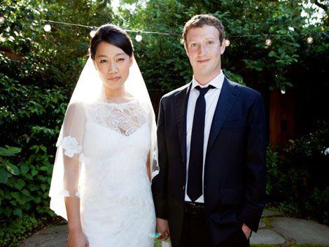 Mark Zuckerberg se casó con una joven asiática