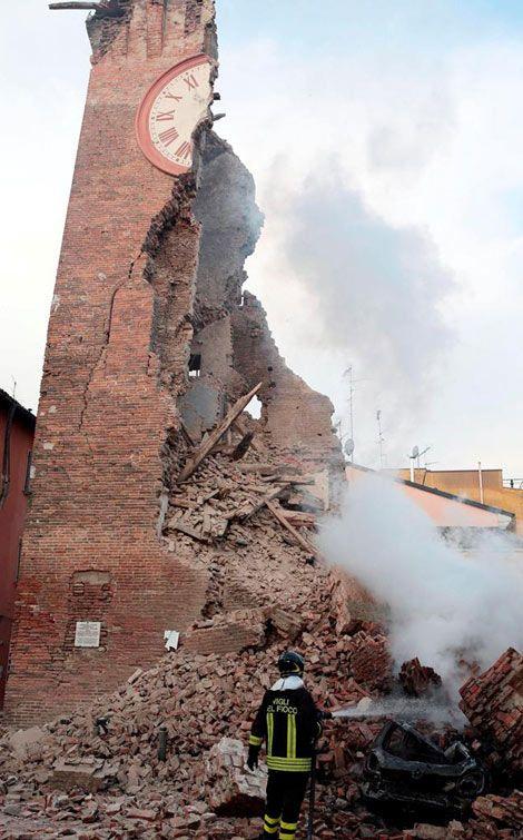Terremoto en Italia deja al menos 6 muertos y 50 personas heridas