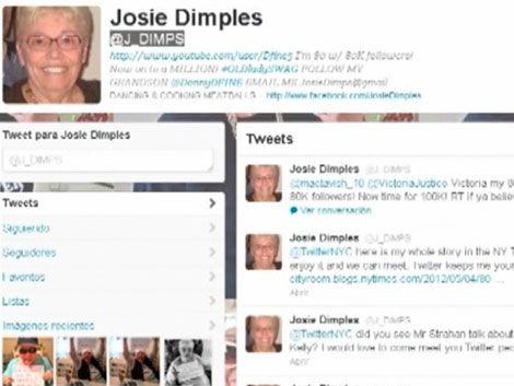 Abuela twittera se hizo famosa por sus mensajes positivos