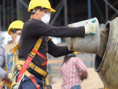 Lanzan campaña para prevenir accidentes en la construcción