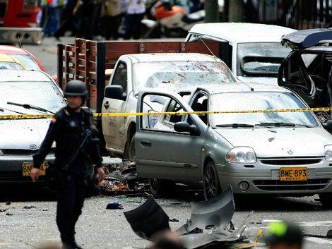 Atentado en Bogotá deja cinco muertos y 29 heridos