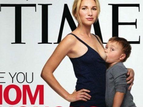 Amamanta a su hijo de tres años y es la tapa de la revista Time