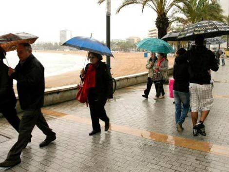 Último día de calor: vienen lluvias dispersas en próximas horas