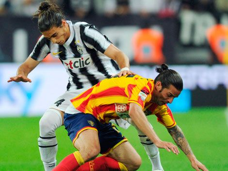 Cáceres campeón con Juventus en Italia.