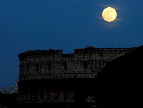 La Luna más grande y brillante del año