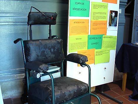 Estudiantes de Paysandú crearon silla de ruedas activada por voz