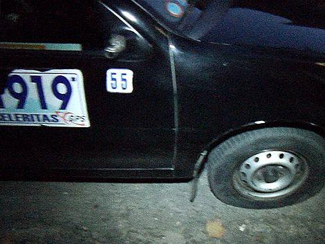 Taxista agredida por trabajar en un 1º de mayo