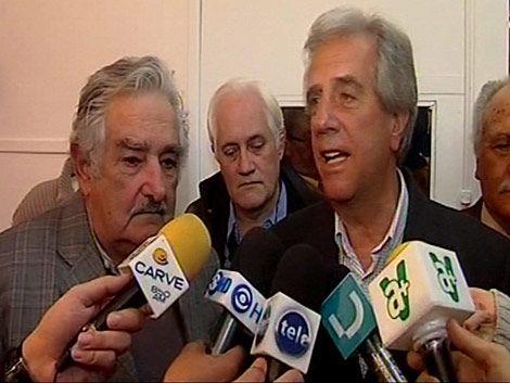 Mujica y Vázquez juntos en acto público en La Teja