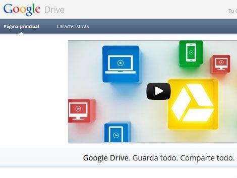 Google presentó nuevo servicio de almacenamiento
