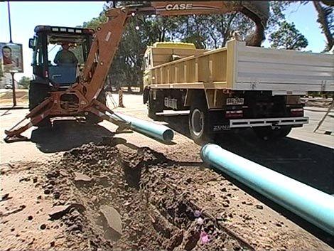 Corte de agua en nueve barrios de Montevideo por obras de OSE